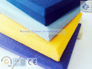 High Quality Fabric Wrapped Sound Absorbing Panel (SQFFSBE25mm) pictures & photos