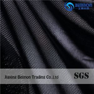 New Type, Butterfly Design Nylon Spandex Jacquard Stretch Power Mesh Fabric Black pictures & photos