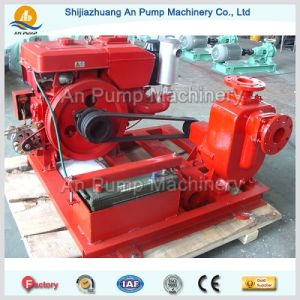 Centrifugal Non Clogging Diesel Engine Self Priming Pump pictures & photos