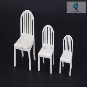Scaled Arcuated Backrest Plastic Model Easy Chair