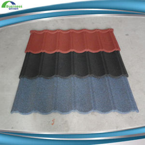 Colorful Stone Coated Aluminium Metal Roofing Tiles pictures & photos