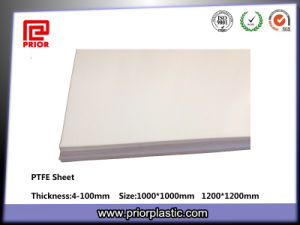 Natural Color PTFE Teflon Sheet Manufacturer pictures & photos