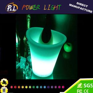 Wholesale Waterproof Bar Illuminated LED Ice Bucket pictures & photos
