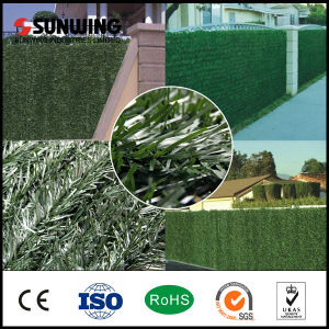 Sunwing Green Plastic Artificial Bamboo Fence for Outdoor Garden