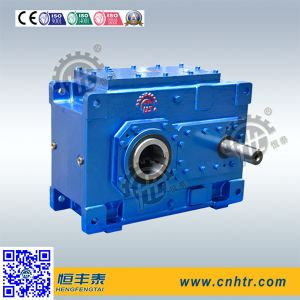 Hh Helical Bevel Gearbox for Metal Plastic Rubber Tyre PP Pipe Waste Scrap Shredders pictures & photos