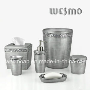 Middle East Style Polyresin Bathroom Accessory Set (WBP0277B) pictures & photos
