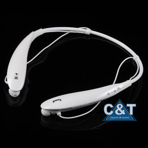 Bluetooth Headphones Retractable Earbuds Neckband Wireless Headset Sport Sweatproof Earphones with Mic for iPhone Android Cellphone pictures & photos