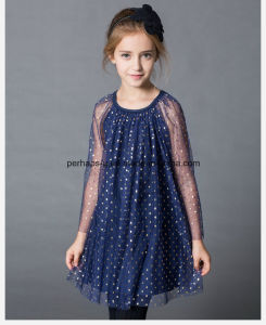 High Quality Elegant Princess Girls Dress Children Wear pictures & photos