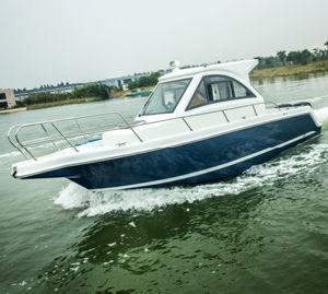 Beautiful Fiberglass Recreational Fishing Boats pictures & photos
