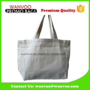 White Promotional Recycled Blank Printing Cotton Bag pictures & photos