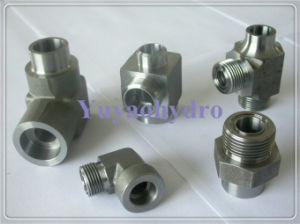 Weld Hydraulic Fittings OEM Customized Steel Forged Fittings Adapter pictures & photos