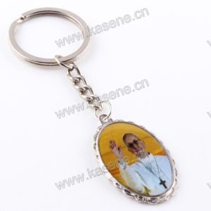 New Pope Francis Epoxy Image Catholic Medal, Religious Keychain pictures & photos