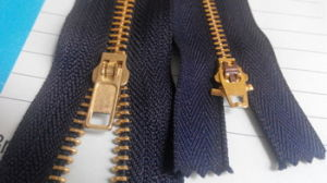 5# Brass Zipper with Good Quality and Reasonable Prices pictures & photos