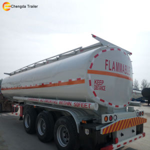 New 3 Axle 12 Tyres Oil Fuel Tanker Tank Truck Trailer pictures & photos