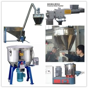Polyethylene Plastic Pelletizer Extrusion with Air Cooling Line Price pictures & photos