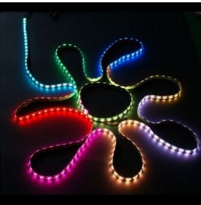 High Quality IP65 Waterproof 3528 SMD Christmas LED Strip Light Outdoor Use RGB Color  DC12V 24W Flexible Strip