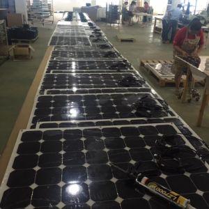 High Efficiency Semi Flexible Sunpower 100W Solar Panel pictures & photos