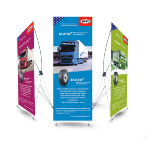 High Quality Wholesale Advertising X Frame Banner Stand pictures & photos