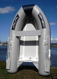 2.7m Light Gray Rigid Hull Fiberglass Inflatable Boat pictures & photos