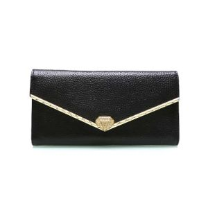 Fashion Genuine Leather Fashion Envelope Designer Wallet Bag Purse (XQ0688) pictures & photos