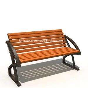 Park Bench, Picnic Table, Cast Iron Feet Wooden Bench, Park Furniture FT-Pb021 pictures & photos