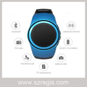 New Portable Mini Sports Music Smart Watch Wireless Bluetooth Speaker pictures & photos
