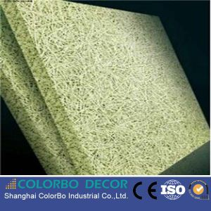 Fireproof Insulation Wood Wool Board Acoustic Panel pictures & photos