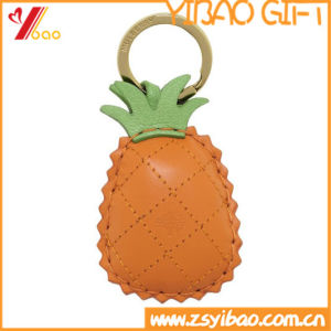 Custom PVC Leather Pineapple Keychain for Gifts (YB-LY-06) pictures & photos