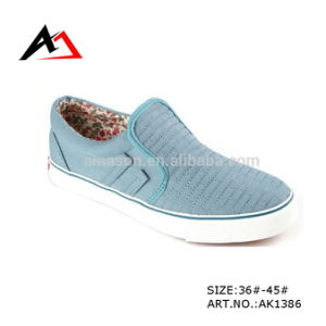 Canvas Shoes Casual Hot Selling Wholesale Price for Men (AK1386) pictures & photos