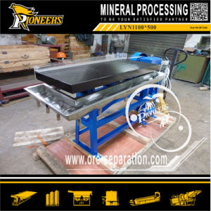 Laboratory Aluminum Alloy Deck Mineral Test Shaking Table Separation for Sale pictures & photos