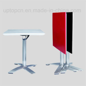 New Saving Space Dining Table Square Folding Table (SP-FT400) pictures & photos