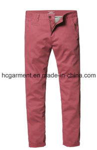 Walking Cargo Silm Colorful Chino Soft Cotton Casual Pants for Man pictures & photos