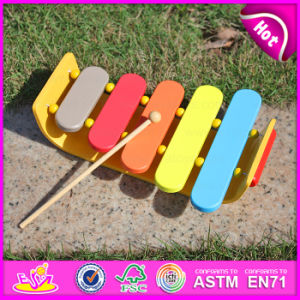 2015 Nontoxic 5-Scale Small Xylophone for Kids, Hand Knock Xylophone Toy for Children, Music Instrument Wooden Xylophone W07c023b pictures & photos