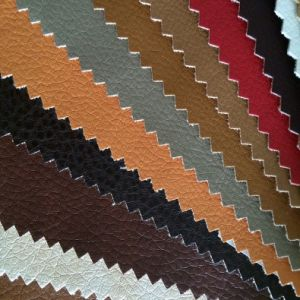 Semi PU/PVC /Synthetic Leather for Furniture/ Chair/Sofa pictures & photos