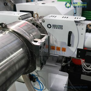 PLC Control Low-Noise PP PE Plastic Pelletizing Machine pictures & photos