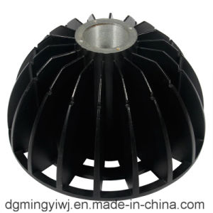 Aluminum Alloy Die Casting for Street Lamps (AL9008) with Powder Coated Made by Mingyi
