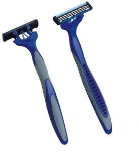 Triple Blade Disposable Razor (KD-3009L) pictures & photos