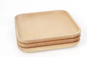 Handmade Natural Wood Cutlery Tableware Wood Plate Tableware pictures & photos