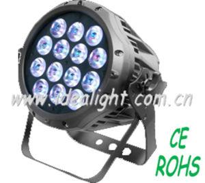 14PCS 3W Waterproof Tri-Color LED PAR Light