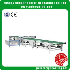 China Ppainting Machine UV Coater High Gloss MDF Effect with UV Curtain Coater Machine