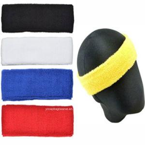 Custom Sport Men′s Elastic Headband pictures & photos