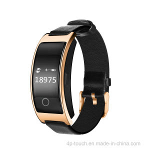Pedometer Bluetooth 4.0 Smart Bracelet with Blood Pressure Monitor pictures & photos