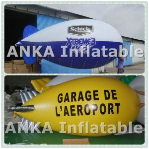 Popular Red PVC Helium Advertising Inflatable Airship pictures & photos
