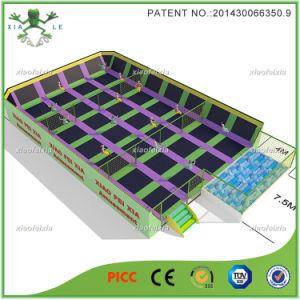 Patented Big Size Indoor Trampoline Park (2561C) pictures & photos