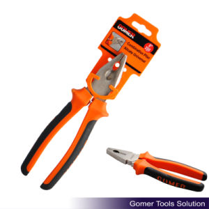 Combination Plier with Comfortable Handle (T03025-B)