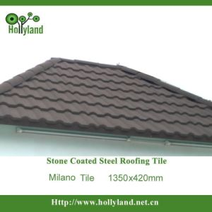 Stone Coated Metal Roofing Tile (Milano Tile) pictures & photos