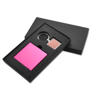 Customize PVC Ladies′ Keychain and Card Holder Gift Set (QL-TZ-0015) pictures & photos