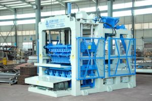 Qt6-15 Automatic Paver Brick Machine