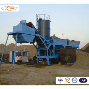200ton/H Mobile Concrete Mixing Plant for Road Construction
