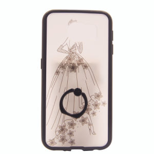 Painting with Ring iPhone 6s/6plus TPU for Samsung Note6 S6edge Mobile Phone Accessories (XSEH-015) pictures & photos